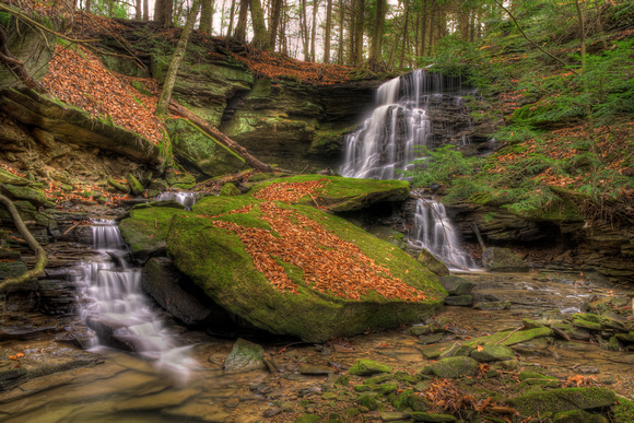 Unnamed Waterfall, Crawford County, Pennsylvania